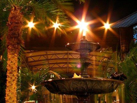 夜景写真のクロスフィルター効果/Power Shot G3 撮影写真・作例